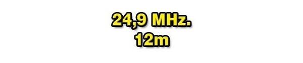 24 MHz./12 METERS