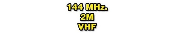 144 MHz/2m/VHF
